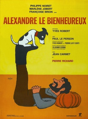 Alexandre le bienheureux - French Movie Poster (thumbnail)