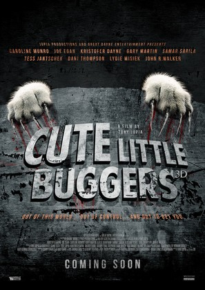 Cute Little Buggers - British Movie Poster (thumbnail)