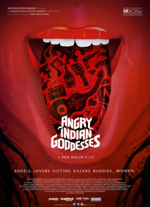 Angry Indian Goddesses - Canadian Movie Poster (thumbnail)