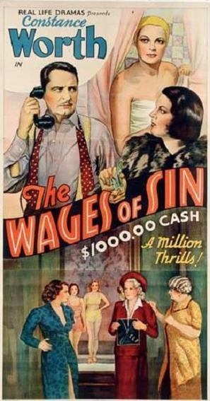 The Wages of Sin - Movie Poster (thumbnail)