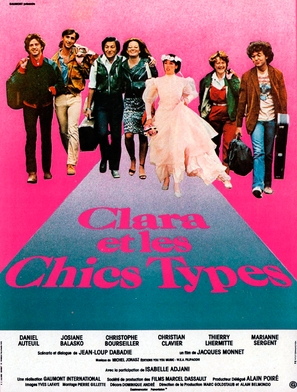 Clara et les Chics Types - French Movie Poster (thumbnail)