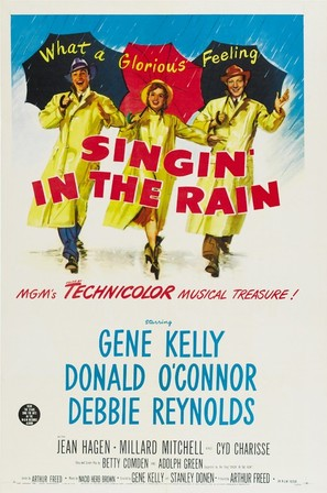Singin' in the Rain - Movie Poster (thumbnail)