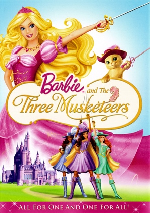 Barbie and the Three Musketeers - DVD cover (thumbnail)