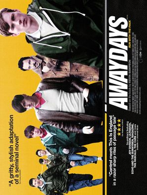 Awaydays - British Movie Poster (thumbnail)