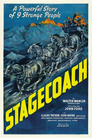 Stagecoach - Theatrical movie poster (thumbnail)