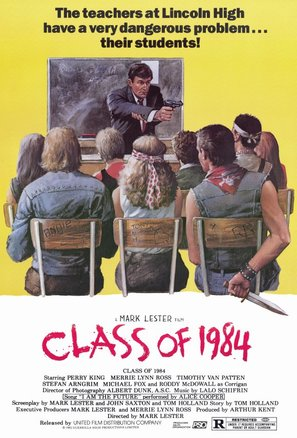 Class of 1984 - Movie Poster (thumbnail)