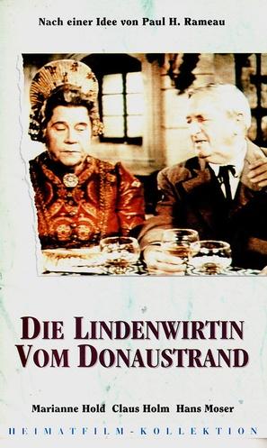 Die Lindenwirtin vom Donaustrand - German VHS movie cover (thumbnail)
