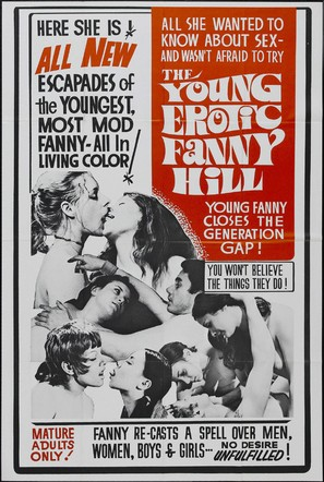 The Young, Erotic Fanny Hill - Movie Poster (thumbnail)