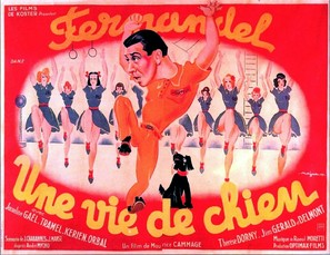 Une vie de chien - French Movie Poster (thumbnail)