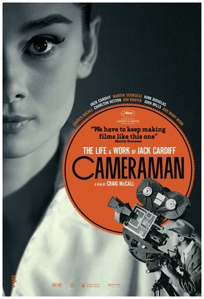 Cameraman: The Life and Work of Jack Cardiff - British Movie Poster (thumbnail)