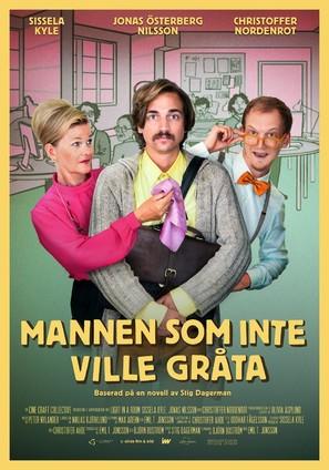 Mannen som inte ville gråta - Swedish Movie Poster (thumbnail)