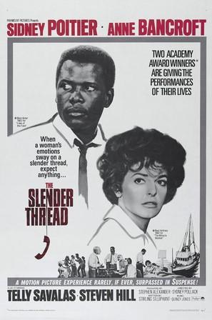The Slender Thread - Movie Poster (thumbnail)