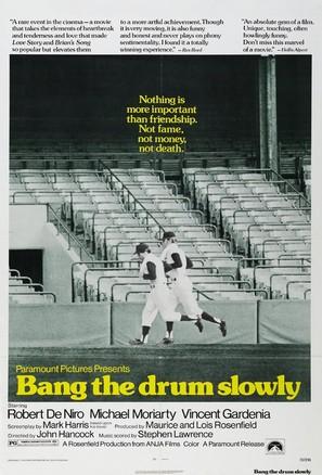 Bang the Drum Slowly - Movie Poster (thumbnail)