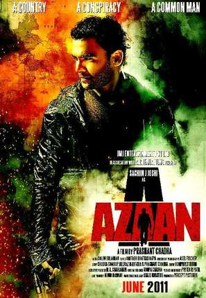 Aazaan - Indian Movie Poster (thumbnail)