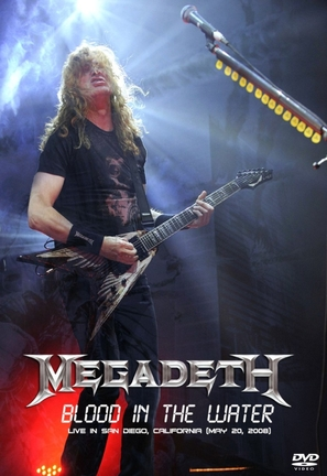 Megadeth Blood in the Water: Live in San Diego - Movie Cover (thumbnail)