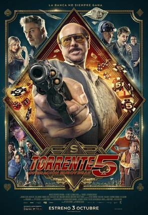 Torrente V: Misión Eurovegas - Spanish Movie Poster (thumbnail)