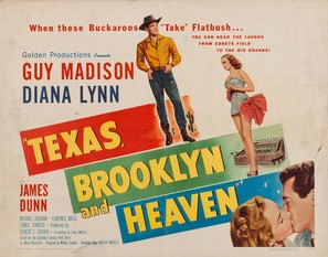 Texas, Brooklyn & Heaven - Movie Poster (thumbnail)