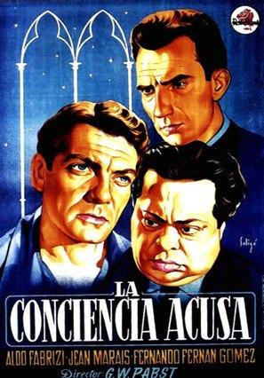 Conciencia acusa, La - Spanish Movie Poster (thumbnail)