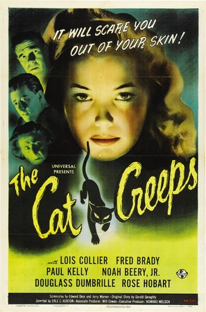The Cat Creeps - Movie Poster (thumbnail)