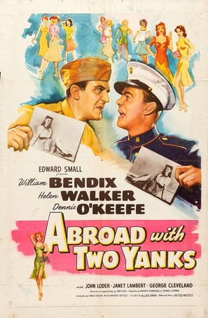 Abroad with Two Yanks - Movie Poster (thumbnail)