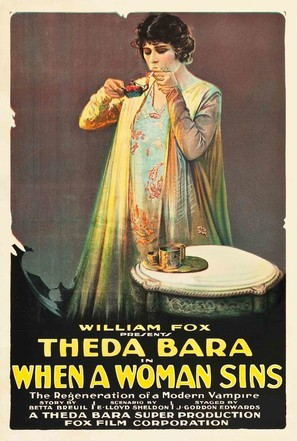 When a Woman Sins - Movie Poster (thumbnail)