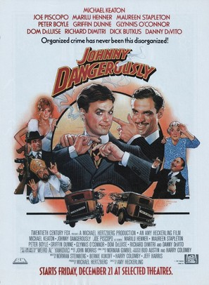 Johnny Dangerously - Movie Poster (thumbnail)