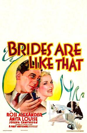 Brides Are Like That - Movie Poster (thumbnail)