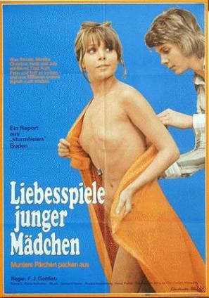 Liebesspiele junger Mädchen - German Movie Poster (thumbnail)