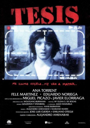 Tesis - Spanish Movie Poster (thumbnail)