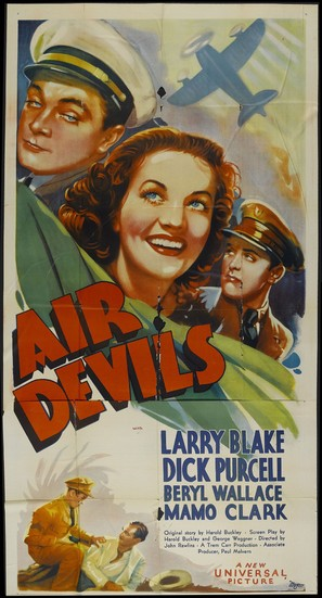 Air Devils - Movie Poster (thumbnail)