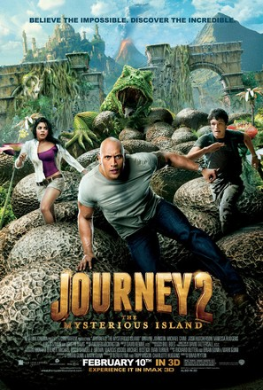 Journey 2: The Mysterious Island - Movie Poster (thumbnail)