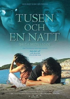Tusen och en natt (jävla sköna män) - Swedish Movie Poster (thumbnail)