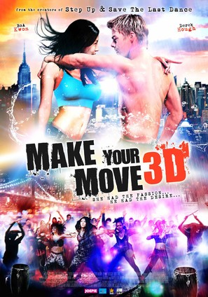 Make Your Move - Dutch Movie Poster (thumbnail)