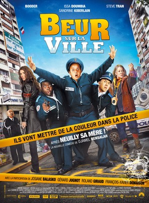 Beur sur la ville - French Movie Poster (thumbnail)
