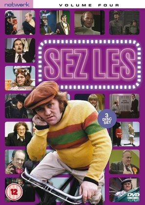 """""""Sez Les"""" - British DVD cover (thumbnail)"""