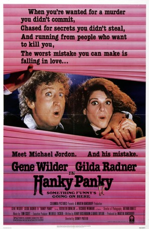 Hanky Panky - Movie Poster (thumbnail)