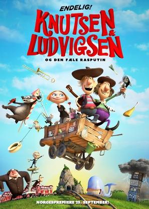 Knutsen & Ludvigsen og den fæle Rasputin - Norwegian Movie Poster (thumbnail)