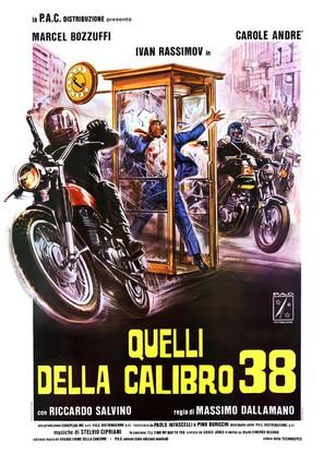 Quelli della calibro 38 - Italian Movie Poster (thumbnail)