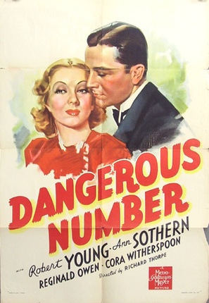 Dangerous Number - Movie Poster (thumbnail)