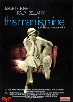 This Man Is Mine - Spanish DVD cover (thumbnail)