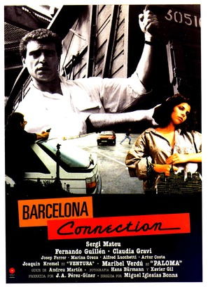Barcelona Connection - Spanish Movie Poster (thumbnail)