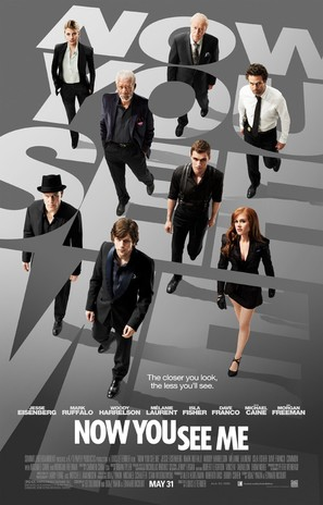 Now You See Me - Movie Poster (thumbnail)
