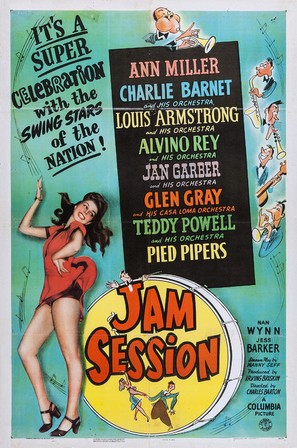 Jam Session - Movie Poster (thumbnail)