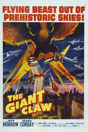 The Giant Claw - Theatrical poster (thumbnail)