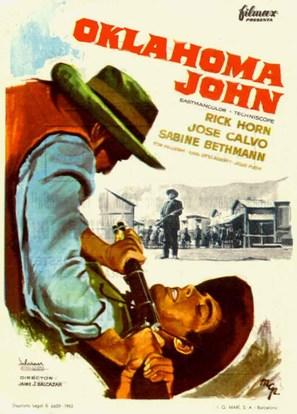 Oklahoma John - Spanish Movie Poster (thumbnail)