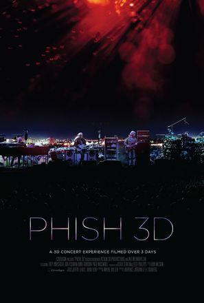 Phish 3D - Movie Poster (thumbnail)