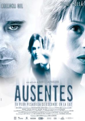 Ausentes - Spanish Movie Poster (thumbnail)