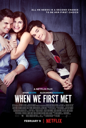 When We First Met - Movie Poster (thumbnail)