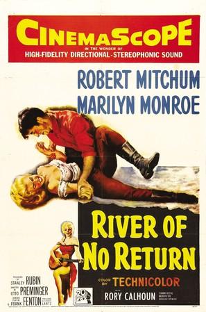 River of No Return - Movie Poster (thumbnail)