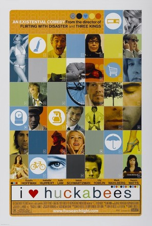 I Heart Huckabees - Movie Poster (thumbnail)